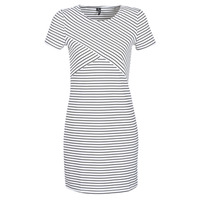 Vêtements Femme Robes courtes Vero Moda VMVIGGA Blanc / Noir