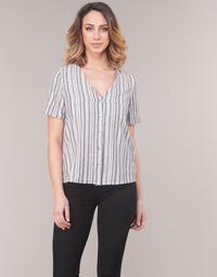 Vêtements Femme Tops / Blouses Vero Moda VMESTHER Marine / Blanc