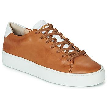 Chaussures Femme Baskets basses Pataugas KELLA Cognac