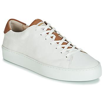 Chaussures Femme Baskets basses Pataugas KELLA Blanc / Cognac