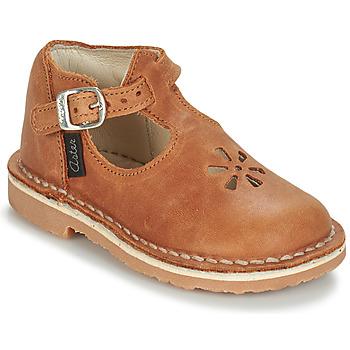 Chaussures Enfant Ballerines / babies Aster BIMBO Cognac