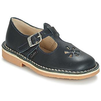 Chaussures Enfant Ballerines / babies Aster DINGO Marine