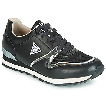 Chaussures Homme Baskets basses Guess NEW CHARLIE Noir