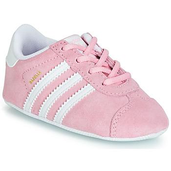 Chaussures Enfant Baskets basses adidas Originals GAZELLE CRIB Rose