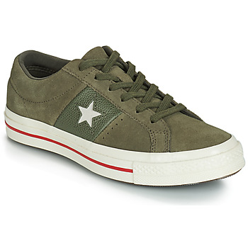 Chaussures Femme Baskets basses Converse ONE STAR CUIR FASHION BALLER SUEDE OX Kaki