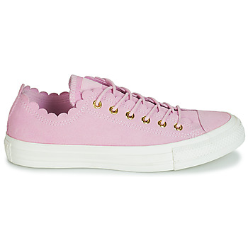 Baskets Basses converse chuck taylor all star frilly thrills suede ox
