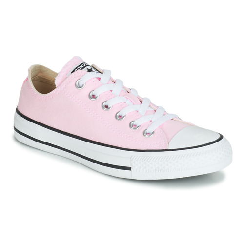 5561b6a1f5fa7 Chaussures Femme Baskets basses Converse CHUCK TAYLOR ALL STAR SEASONAL  CANVAS OX Rose