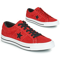 Chaussures Baskets basses Converse ONE STAR DARK STAR VINTAGE SUEDE OX Rouge