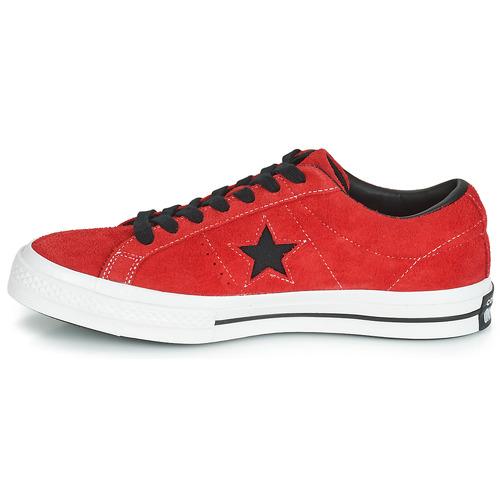 Dark Converse Ox Vintage One Suede Star Rouge ZkiXPu