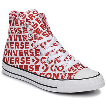 Chaussures Baskets montantes Converse CHUCK TAYLOR ALL STAR WORDMARK HI Rouge