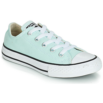 Chaussures Fille Baskets basses Converse CHUCK TAYLOR ALL STAR SEASONAL CANVAS OX Bleu