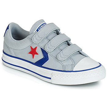 Chaussures Garçon Baskets basses Converse STAR PLAYER 3V CANVAS OX Gris