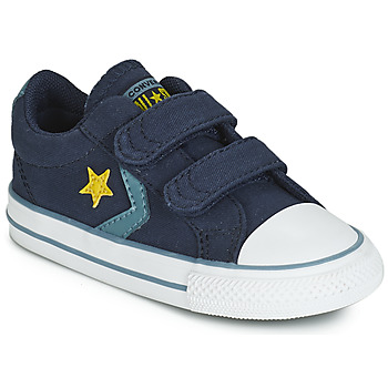 Chaussures Garçon Baskets basses Converse STAR PLAYER 2V CANVAS OX Bleu