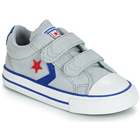 Chaussures Enfant Baskets basses Converse STAR PLAYER 2V CANVAS OX Gris
