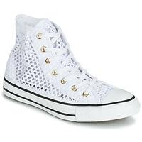 Chaussures Femme Baskets montantes Converse CHUCK TAYLOR ALL STAR HANDMADE CROCHET HI Blanc