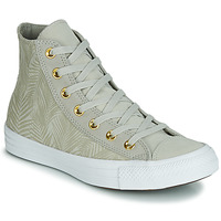 Chaussures Femme Baskets montantes Converse CHUCK TAYLOR ALL STAR SUMMER PALMS HI Vert