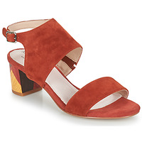 Chaussures Femme Sandales et Nu-pieds Metamorf'Ose EMBARQUA Rouge