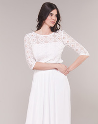 Vêtements Femme Tops / Blouses Betty London CONSTANCE Blanc