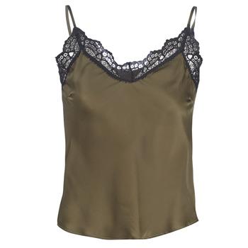 Vêtements Femme Tops / Blouses Ikks BN11105-56 Kaki