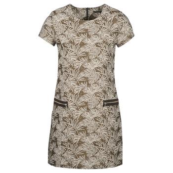 Vêtements Femme Robes longues Ikks BN30165-67 Kaki / Beige