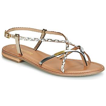 Chaussures Femme Sandales et Nu-pieds Les Tropéziennes par M Belarbi MONATRES Blanc / Doré