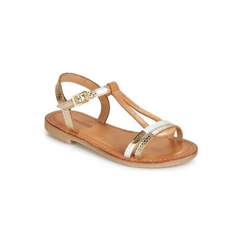 Chaussures Femme Sandales et Nu-pieds Les Tropéziennes par M Belarbi BADA Doré / Blanc