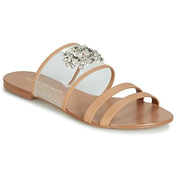 Chaussures Femme Mules KG by Kurt Geiger PIA VINYL SANDAL Camel