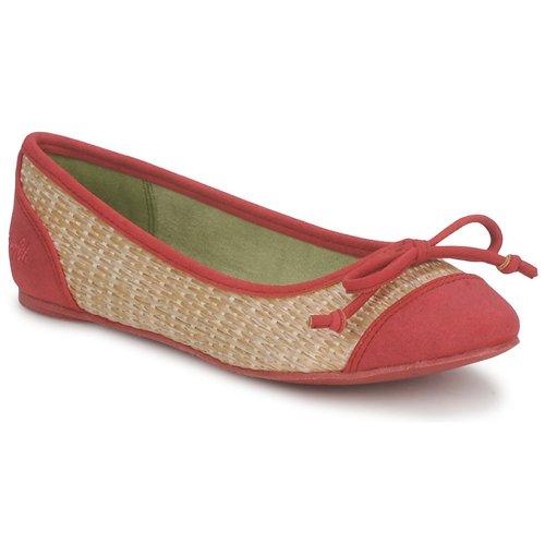 Chaussures Femme Ballerines / babies Blowfish NITA Rouge