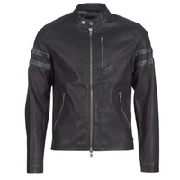 Vêtements Homme Vestes en cuir / synthétiques Guess COOL BIKER Noir