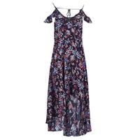 Vêtements Femme Robes longues Guess BORA Noir / Mutlicolore