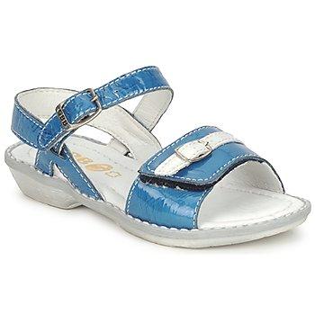 Chaussures Air max tnFille Sandales et Nu-pieds GBB CARAIBES FIZZ Bleu / Blanc
