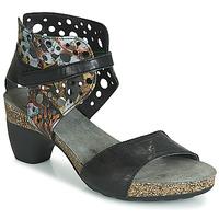 Chaussures Femme Sandales et Nu-pieds Think ZEG Noir