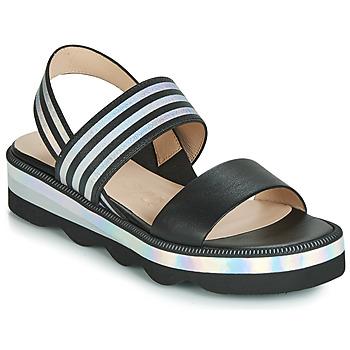 Chaussures Femme Sandales et Nu-pieds Wonders BOLETTI Noir