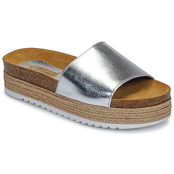 Chaussures Femme Mules So Size JITRUNE Argenté