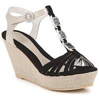 Chaussures Femme Sandales et Nu-pieds Regard RAFAZA Noir