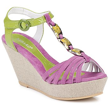 Chaussures Femme Sandales et Nu-pieds Regard RAFAZA Violine / Vert