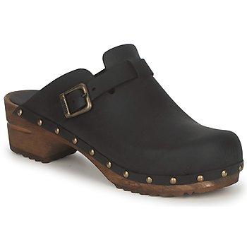 Chaussures Femme Sabots Sanita KRISTEL OPEN Noir