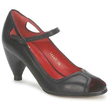 Chaussures Femme Escarpins Vialis POUPE Noir