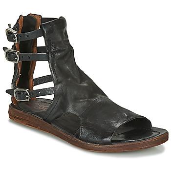 Chaussures Femme Sandales et Nu-pieds Airstep / A.S.98 RAMOS BRIDES Noir