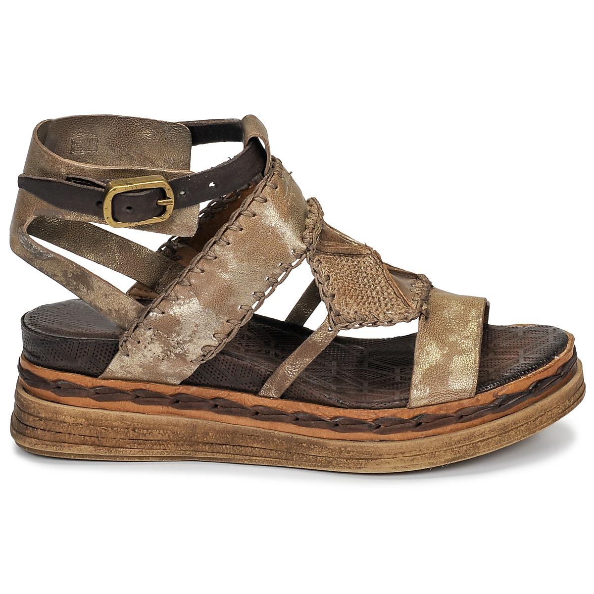Sandales et nu-pieds lagos dor airstep / a.s.98