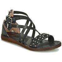 Chaussures Femme Sandales et Nu-pieds Airstep / A.S.98 RAMOS CLOU Noir