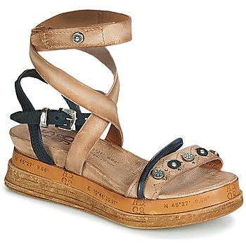 Chaussures Femme Sandales et Nu-pieds Airstep / A.S.98 LAGOS Beige / Noir