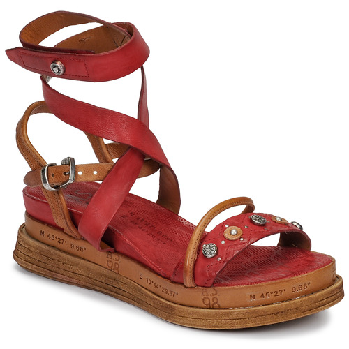 Chaussures Femme Sandales et Nu-pieds Airstep / A.S.98 LAGOS Rouge