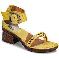 Chaussures Femme Sandales et Nu-pieds Airstep / A.S.98 KENYA Jaune