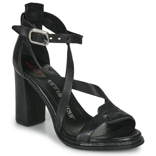 Chaussures Femme Sandales et Nu-pieds Airstep / A.S.98 BASILE Noir