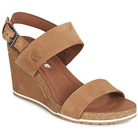 Chaussures Femme Sandales et Nu-pieds Timberland CAPRI SUNSET WEDGE Marron