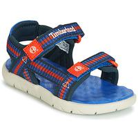 Chaussures Enfant Sandales et Nu-pieds Timberland PERKINS ROW WEBBING SNDL Bleu