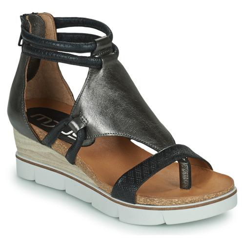 Chaussures Femme Sandales et Nu-pieds Mjus TAPASITA Noir / Argenté