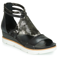 Chaussures Femme Sandales et Nu-pieds Mjus TAPASITA Noir / Métalisé