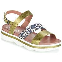 Chaussures Femme Sandales et Nu-pieds Mjus TALISMAN Vert / Leo